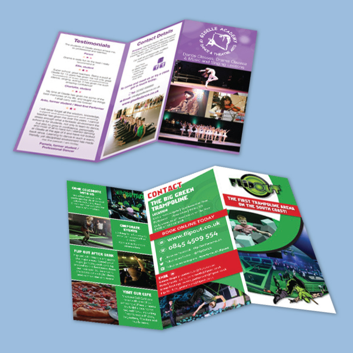 Leaflet design Hampshire